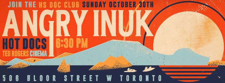 Angry Inuk Robert John Paterson Illustration Design Toronto