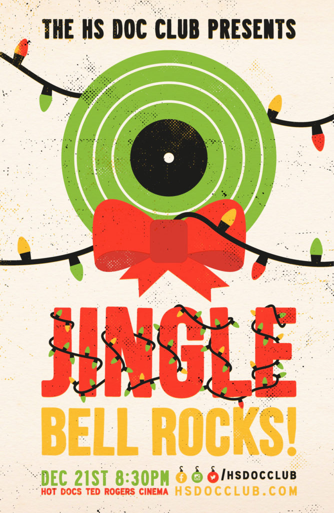 Jingle Bell Rocks Robert John Paterson Illustration Design Toronto