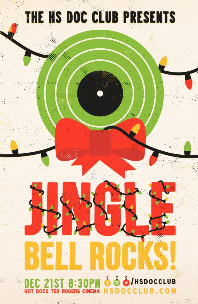 Jingle Bell Rocks Robert John Paterson Illustration Design Toronto