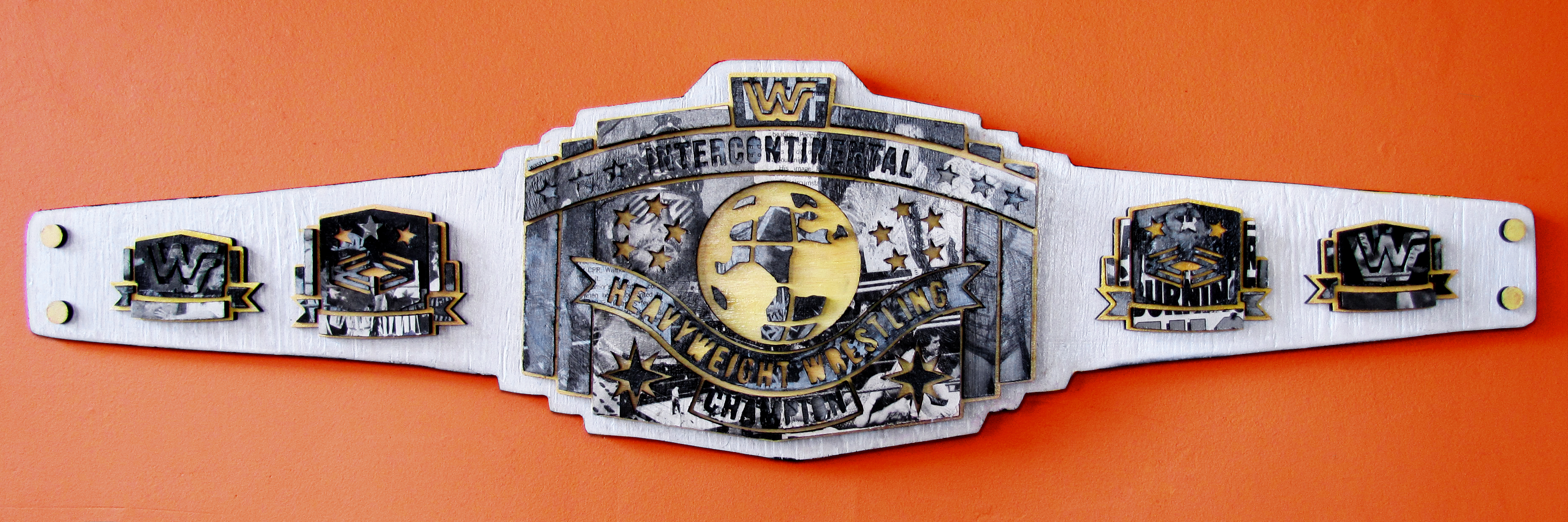 Intercontinental Wrestling Champion John Paterson Illustration Design Toronto